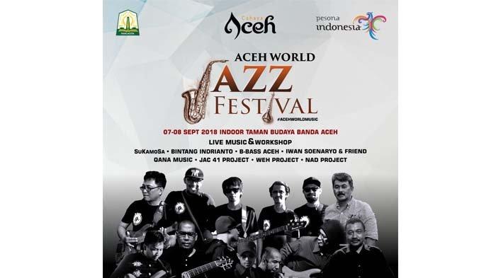 Perhelatan Aceh World Jazz Festival Pindah ke Taman Budaya