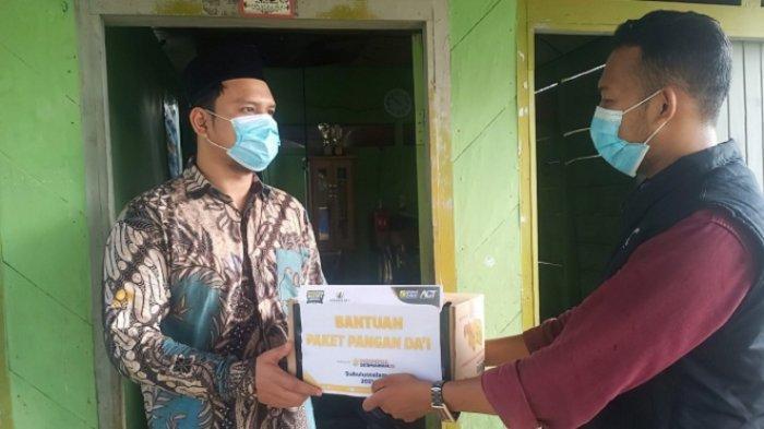 ACT Aceh Bantu Biaya Hidup Dai Perbatasan Aceh-Sumatera Utara