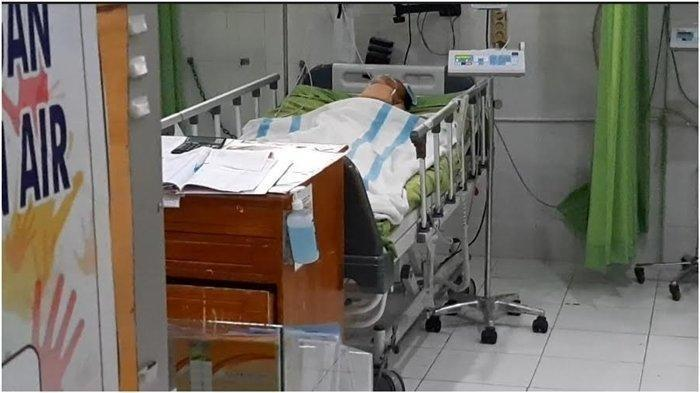 Bocah SD Dipukuli 4 Teman Sekolah, Sudah 4 Hari Belum Sadar, Ibu Sedih Lhat Anak Terbaring di RS