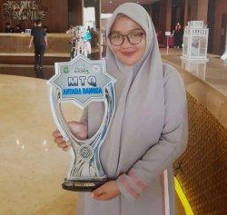 Adila Lathifa, Juara MTQ Antar Bangsa
