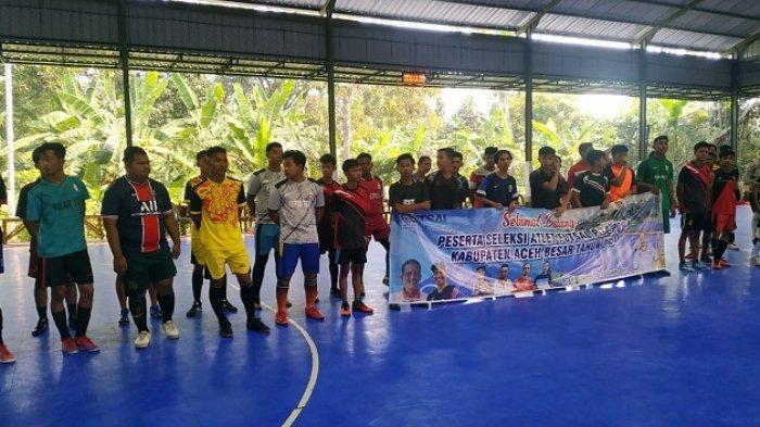 AFK Aceh Besar Seleksi Pemain Pra PORA di Lapangan Futsal Tumbo Baro, Ini Syarat Pesertanya