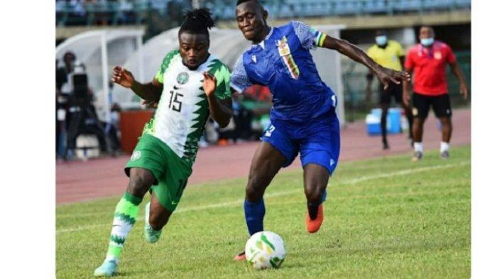 Striker Afrika Tengah Dari Divisi Empat Prancis Bungkam Nigeria di Kualfikasi Piala Dunia