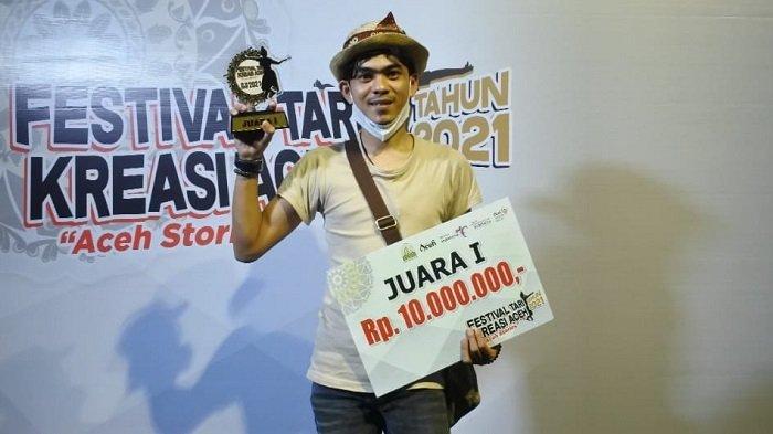 """""""TUBE"""" Juara Festival Tari Kreasi Baru Aceh, Raih hadiah 10 Juta"""