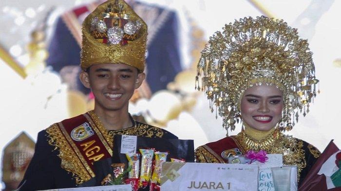 Reza dan Farah Dinobatkan jadi Agam Inong Banda Aceh