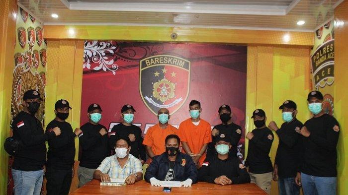 Aksi Begal Rampas HP Mahasiswi Viral di Medsos, Pelaku Dibekuk Team Rimueng Polresta Banda Aceh