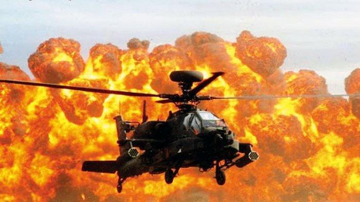 AH-64 Apache dinobatkan sebagai helikopter serang paling mematikan di dunia