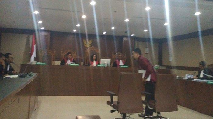 Ahmadi Sampaikan Pembelaan Sendiri di Pengadilan Tipikor Jakarta