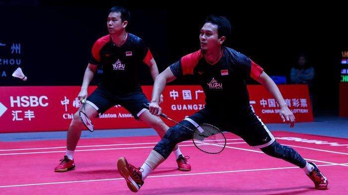 Live Streaming TVRI Thailand Open 2021 Rabu (20/1): Ahsan/Hendra Jumpa Pemain Tua di Babak Pertama