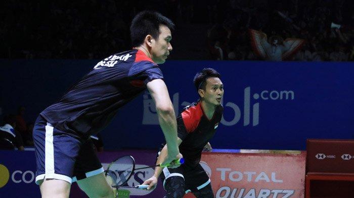 Link Live Streaming Final Indonesia Open 2019, Derbi Merah Putih Ahsan/Hendra Vs Marcus/Kevin