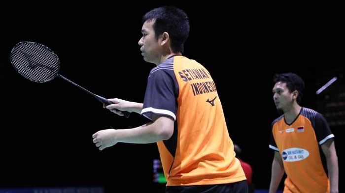 Hasil Swiss Open 2019 - Ahsan/Hendra Susul Tiga Ganda Putra Indonesia ke Babak 16 Besar