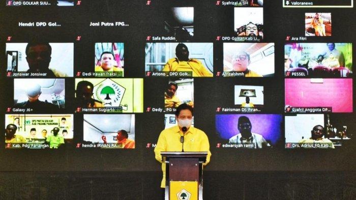 Ketua Umum Dewan Pimpinan Pusat (DPP) Partai Golkar, Airlangga Hartarto meminta seluruh kader Partai Golkar untuk ikut berpartisipasi menanggulangi pandemi Covid-19 yang masih melanda Tanah Air