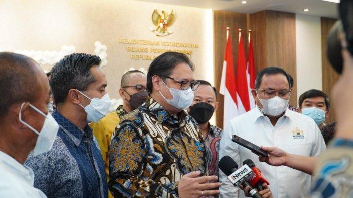 Terima 24 Perwakilan Kadin Indonesia, Menko Airlangga Minta Pengusaha Tidak Cicil THR Karyawan