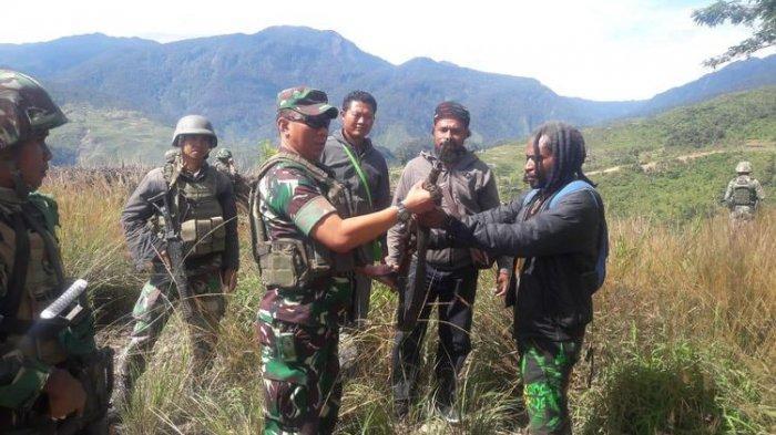 TNI Temukan Markas Pasukan OPM di Intan Jaya Papua