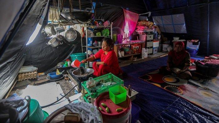 Begini Keluh Kesah Korban Tanah Amblas di Lamkleng Aceh Besar