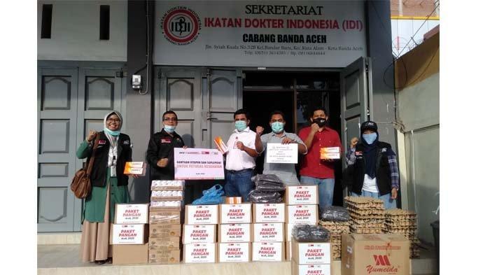 IDI Banda Aceh dan ACT Aceh Ajak Masyarakat Ikuti Anjuran Pemerintah Cegah Covid-19