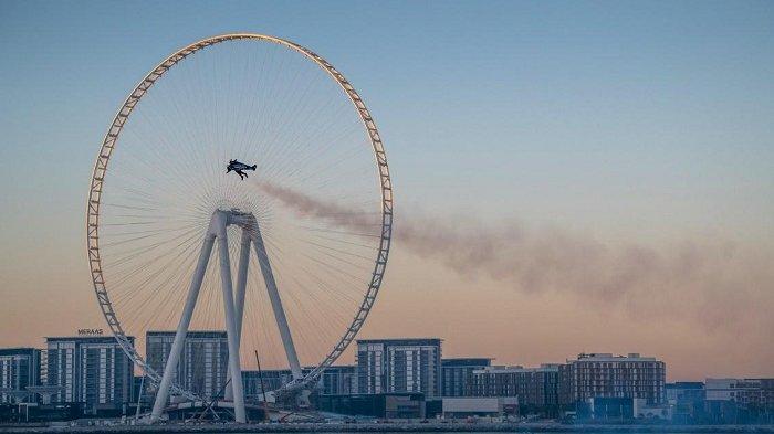 Aksi Jetman di Dubai, Uni Emirat Arab