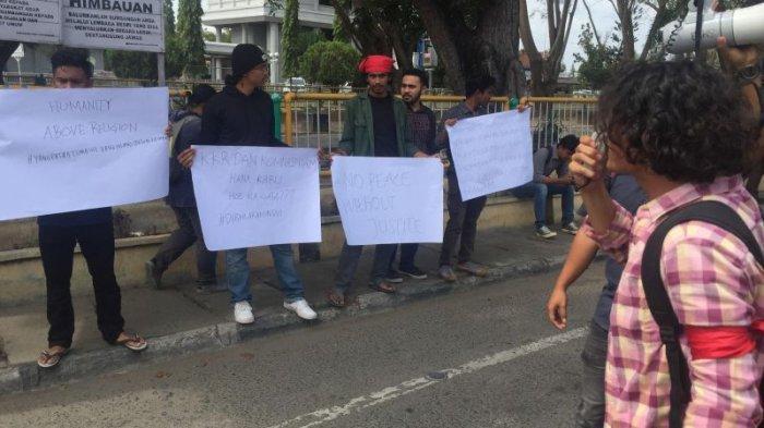 Pemuda Lhokseumawe Gelar Aksi Kenang 21 Tahun Kasus Arakundo Aceh Timur, Ini Tuntutan Lengkapnya