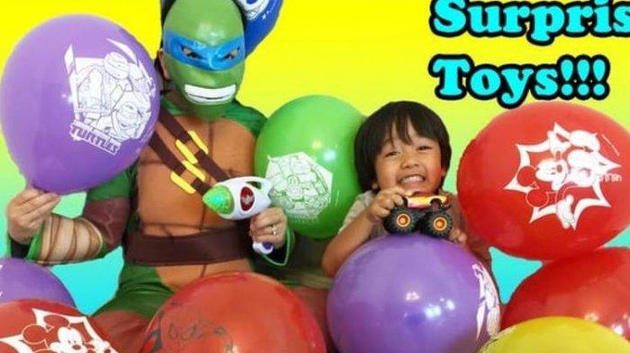 Bocah 8 Tahun Ini Raup Rp 310 Miliar Setahun, Jadi Miliarder Berkat YouTube