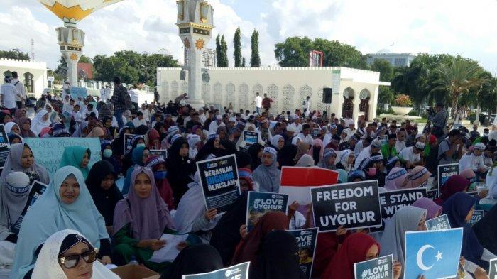 Doa Kita untuk  Muslim Uighur