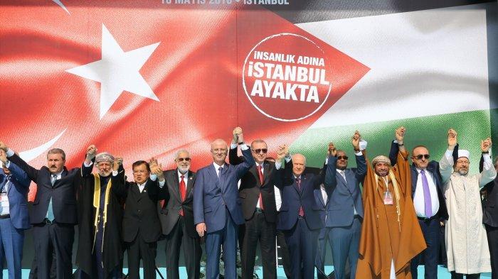 Ini Enam Usulan Indonesia untuk Dorong Palestina Merdeka, Dibacakan Wapres JK di KTT OKI