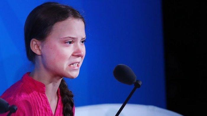 Sosok Greta Thunberg, Gadis Remaja yang Dikritik Trump, Masuk Daftar Perempuan Berpengaruh di Dunia