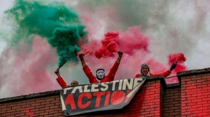 Inggris Tangkap Tiga Aktivis Pro-Palestina, Memaksa Masuk Pabrik Militer Israel
