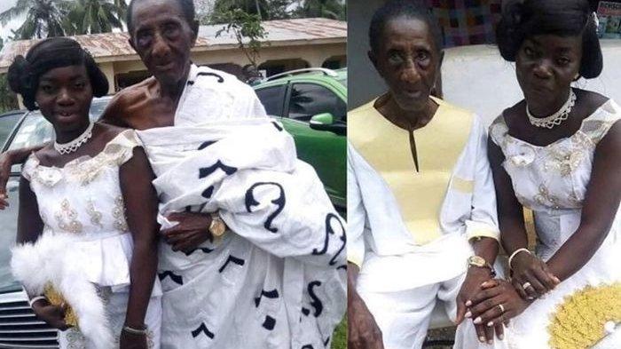 Nikahi Kakek 106 Tahun, Wanita 35 Tahun Ini Bocorkan Keperkasaan Suaminya Meski Sudah Bau Tanah
