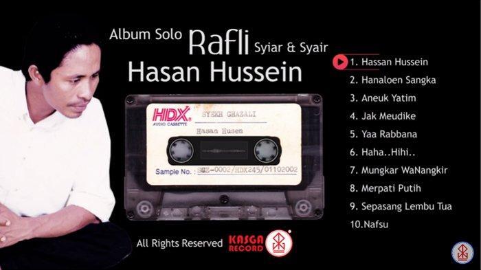 Dua Lagu Rafly yang Viral Saat Tsunami Aceh Tahun 2004, Ini Kisah di Baliknya