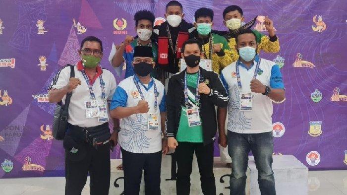 Aldi Mariza, Mahasiswa UIN Ar-Raniry Sumbang Medali Emas untuk Aceh di Cabang Eksibisi Kurash PON XX