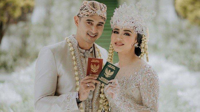 5 Fakta Pernikahan Ali Syakieb dan Margin Wieheerm, Mahar Sesuai Tanggal Menikah