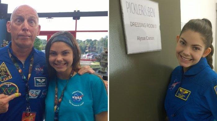 Alyssa Carson, Gadis 17 Tahun yang Akan Jadi Orang Pertama Tinggal di Mars