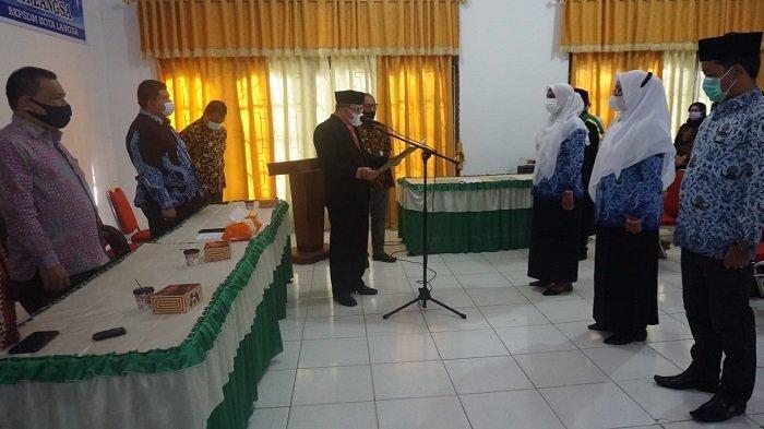 Wakil Wali Kota Langsa Lantik Tiga Pejabat Eselon IV