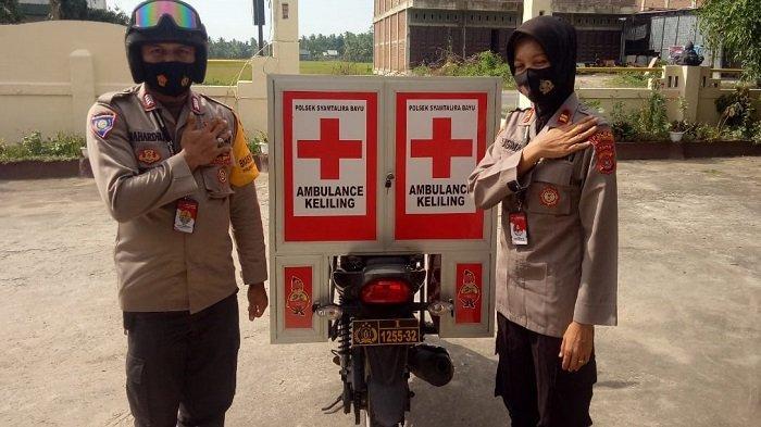 Iptu Lilisma, Modifikasi Sepmor Babinkamtibmas Jadi Ambulans Keliling