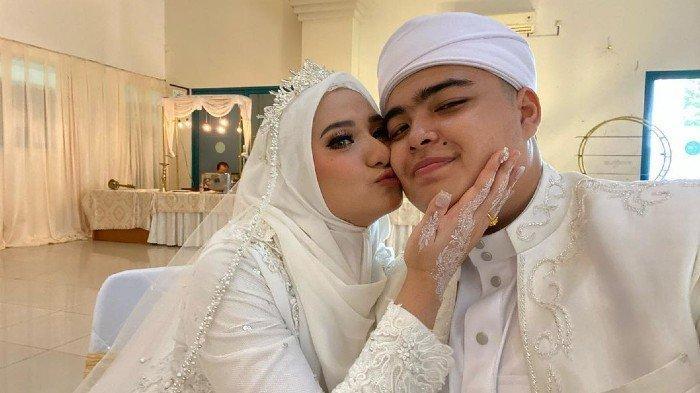 Sah! Putra Kedua Ustaz Arifin Ilham, Ameer Azzikra Resmi Menikah dengan Nadzira Shafa