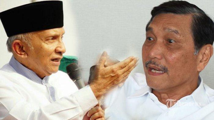 Luhut Berseteru dengan Amien Rais, Pemuda Muhammadiyah Siap Fasilitasi Debat Terbuka