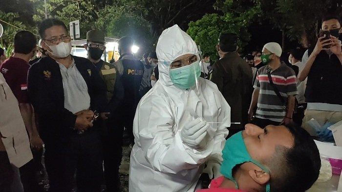 Dipimpin Wali Kota Aminullah Usman, Forkopimda Banda Aceh Razia Prokes ke Sejumlah Warung Kopi