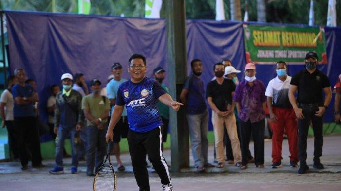 Turnamen Tenis Wali Kota Cup 2021 Dimulai, Pemko Banda Aceh Ditantang Pelti Kota Langsa