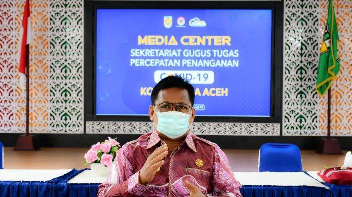 Satu Warga Banda Aceh Positif Corona, Tim Siaga Covid-19 Lakukan Penyemprotan, 7 Orang Dites Swab