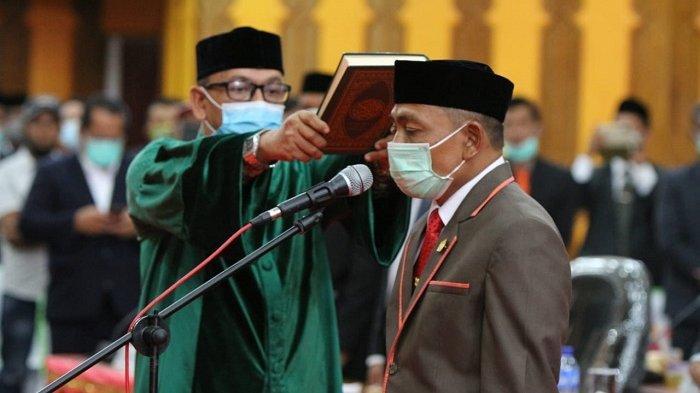 Amiruddin Dilantik Menjadi Ketua DPRK Aceh Selatan