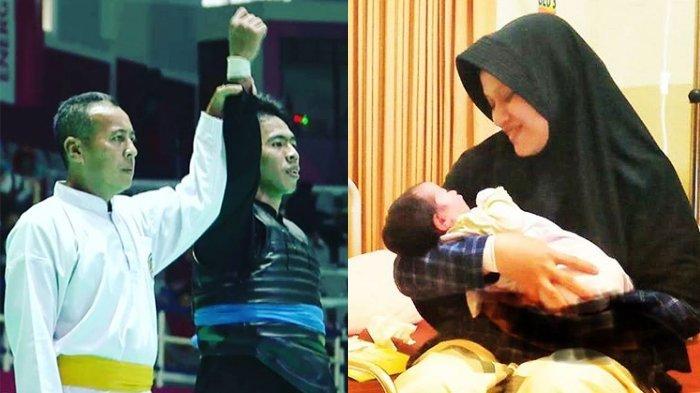 Dapat Medali Perunggu di Asian Games 2018, Pesilat Ini Beri Nama Anaknya yang Baru Lahir 'Perunggu'