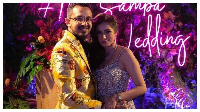 Pernikahan Mewah Amrit Punjabi dan Sanjana, Dihadiri Banyak Artis India hingga Serasa Film Bollywood