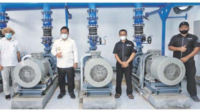Boster Air Minum Berkapasitas 3.000 Liter Milik PDAM Tirta Daroy Mampu Layani 52.000 Pelanggan