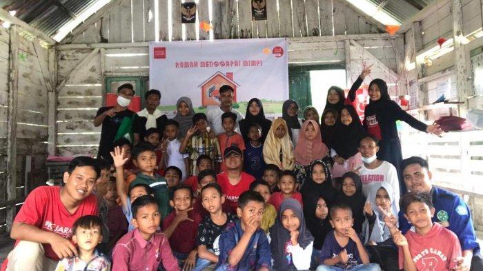 Kejar Mimpi Kota Langsa Sambangi Anak-anak di Pedalaman Aceh Timur