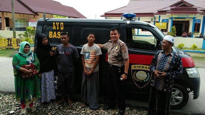 Berharap Bisa Direhab, Dua Ibu Ini Bawa Anaknya yang Kecanduan Narkoba ke Polres Aceh Timur
