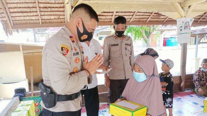 Menyambut Bulan Suci Ramadhan, Polsek Krueng Raya Santuni Anak Yatim, Ini Pengharapannya