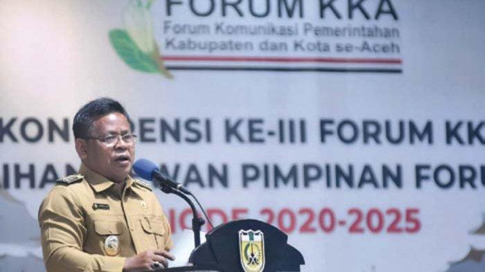 Aminullah Terpilih Secara Aklamasi Sebagai Ketua Forum Kabupaten/Kota Se-Aceh