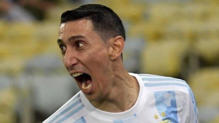 Bukan Messi, Tapi Angel Di Maria Pahlawan Pencetak Gol Tunggal Argentina Juara Copa America 2021