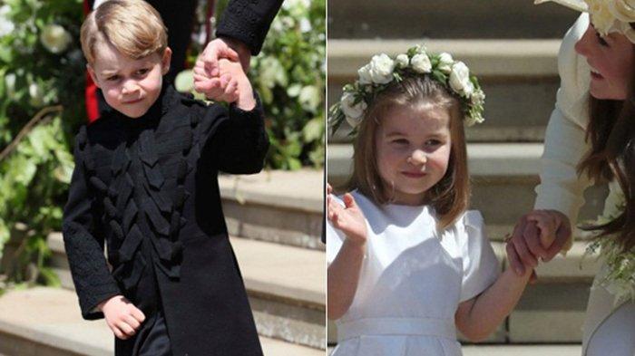 Pangeran George dan Putri Charlotte Ternyata Tak Boleh Makan Bersama Orangtuanya, Alasannya?