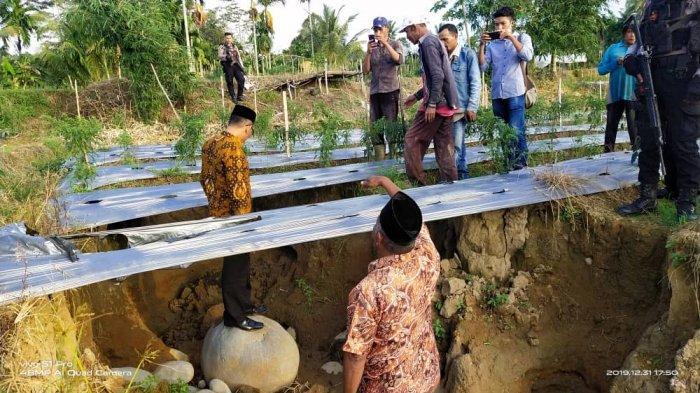Setelah Melihat Dampak Galian C di Sawang, Ini Penegasan Haji Uma kepada Pemkab Aceh Utara