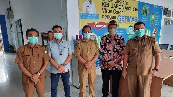 Kunjungi Poliklinik Pinere RSUZA, Senator Aceh Ini Dengar Keluhan Tenaga Kesehatan